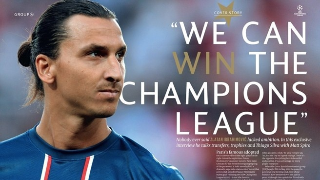 Ibrahimović in it to win it with PSG