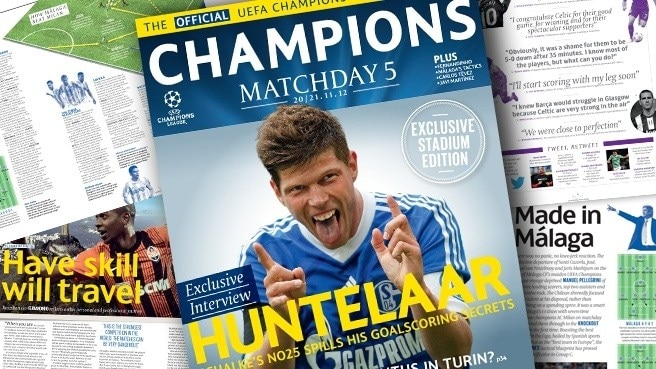 Huntelaar talks to Champions Matchday