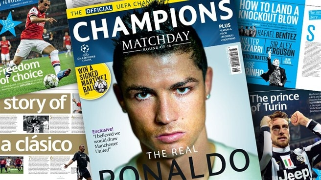 Ronaldo fronts up Champions Matchday