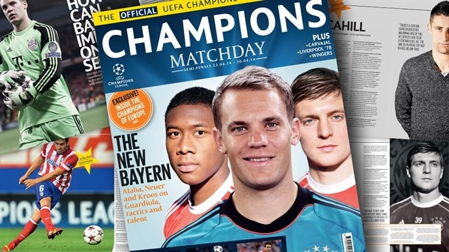 All about Bayern in Champions Matchday