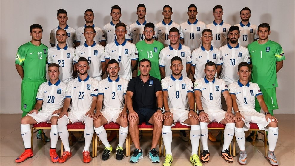 Greece team photo