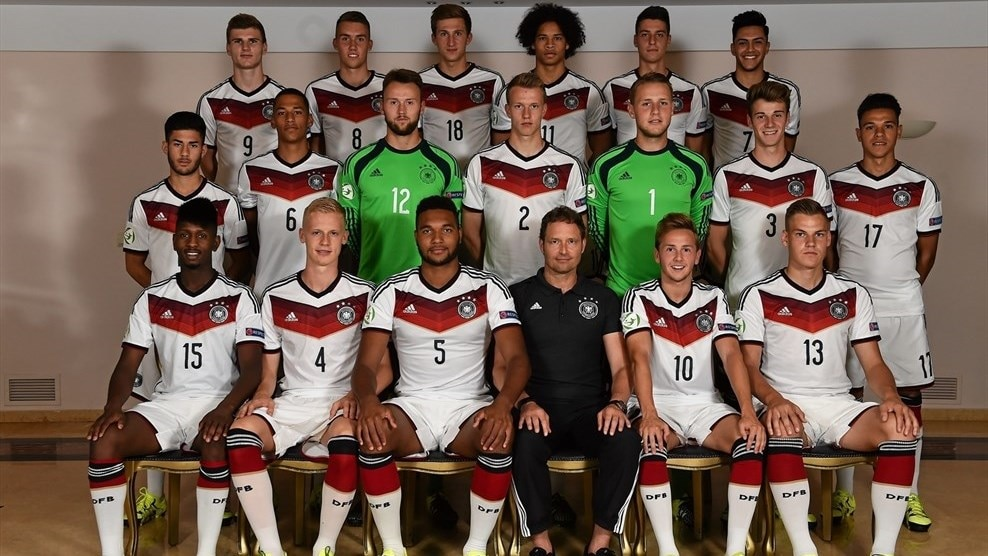 Germany team photo