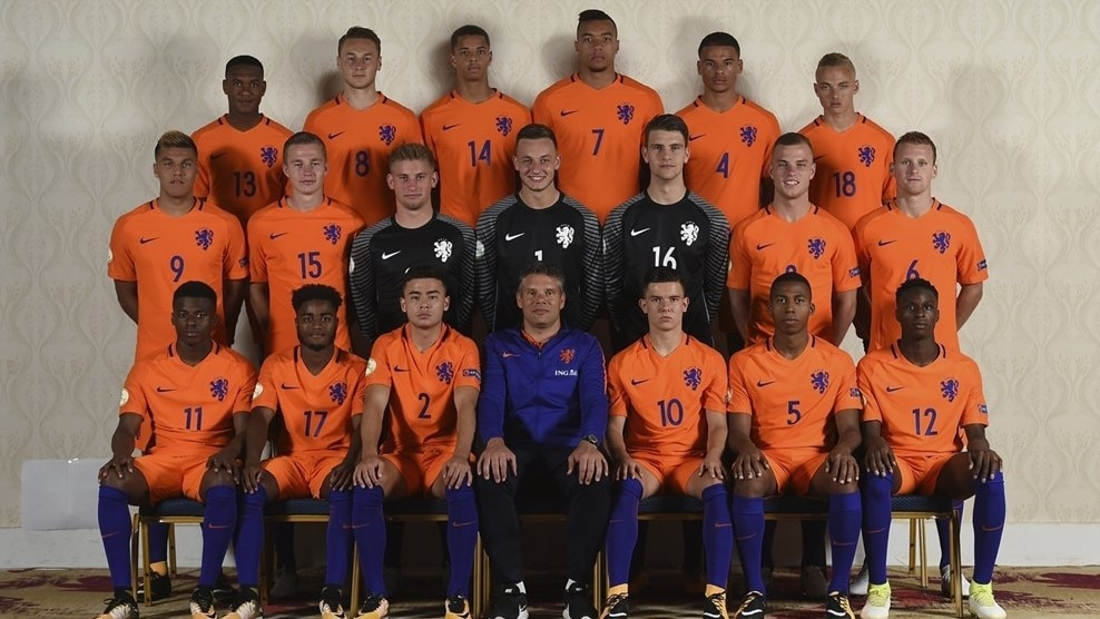 UEFA Under 19 Championship 2017 - Netherlands Headshots