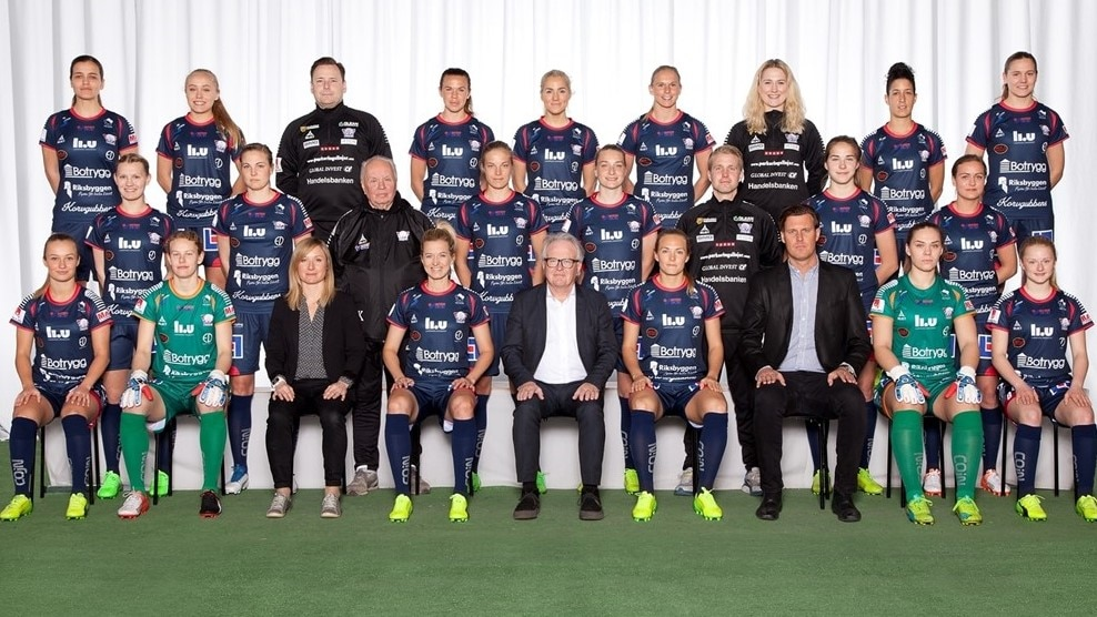 Linkoping squad picture UWCL