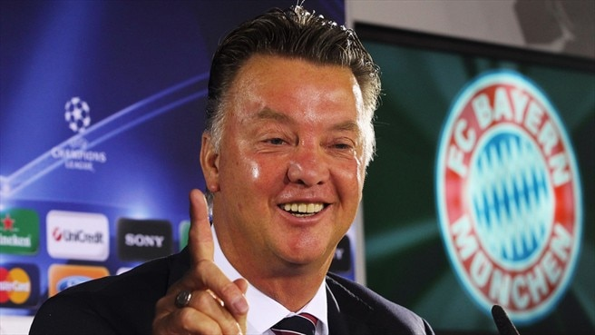 Van Gaal to sign new Bayern contract