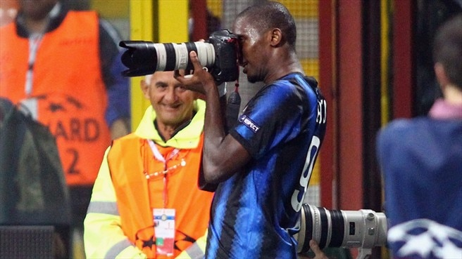 Eto'o urging Inter to keep tight focus