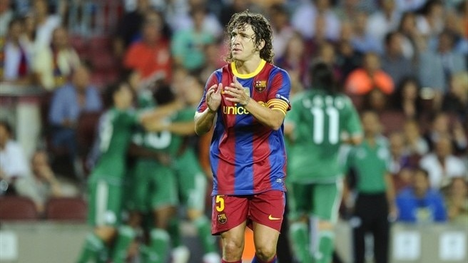 Puyol ruled out of Arsenal decider