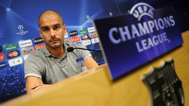 Guardiola warns Barcelona to give Plzeň respect