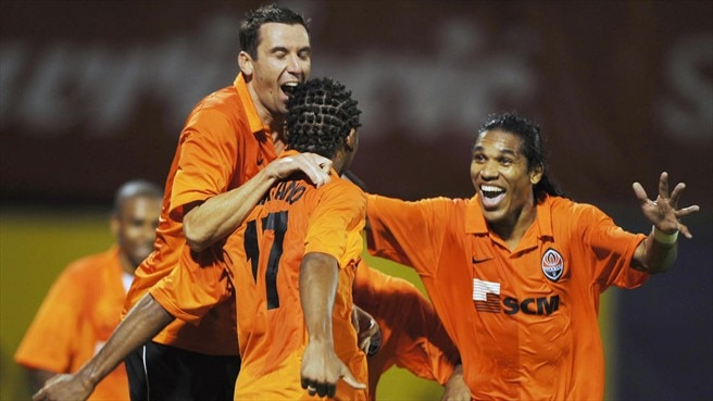 Dinamo stunned by Shakhtar's Brazilians