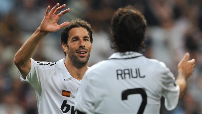 Ruud van Nistelrooy: My team of 2012