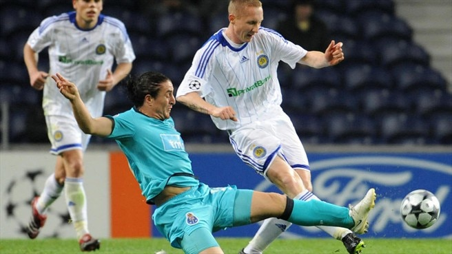 Dynamo joy as Aliyev downs Porto