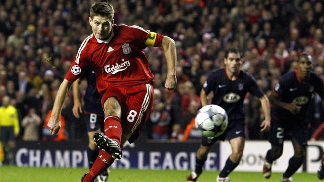 Gerrard on the spot to save Liverpool