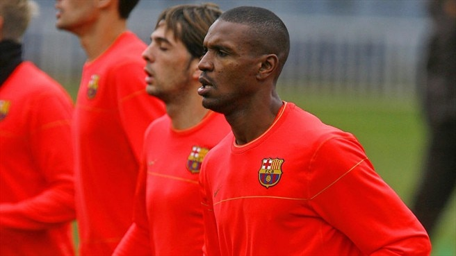Abidal focused on the immediate task