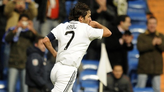 Raúl gets Ramos up and running
