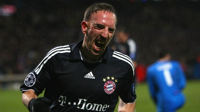 Ribéry relishes role as Bayern's joker