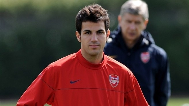 Fàbregas urges young Gunners to come of age