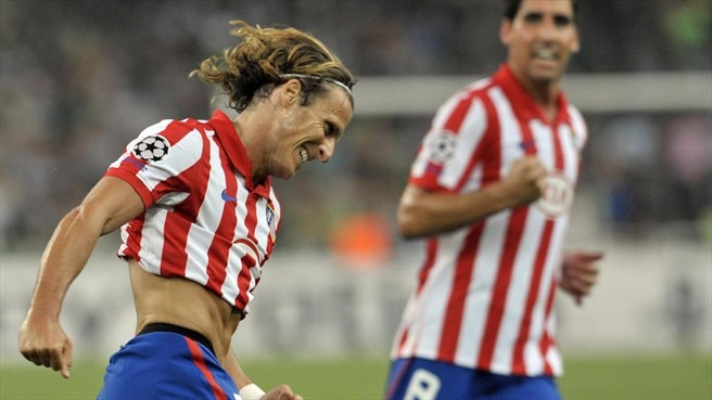 Forlán upbeat as Atlético get on top