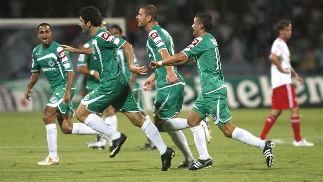 Levi books Haifa's place at top table