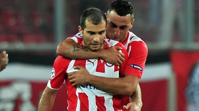 Olympiacos see off determined Sheriff
