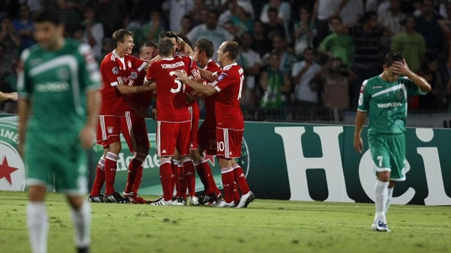 Müller makes light work of Haifa