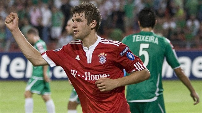 New Müller turns back Bayern clock