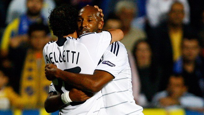 Clinical Anelka cuts down APOEL