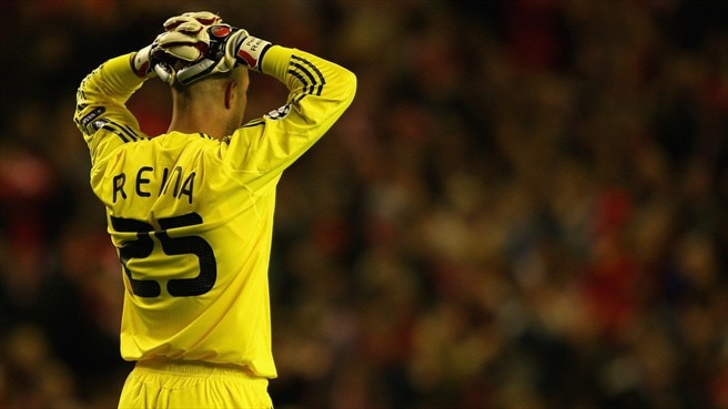 Reina ready to shift Liverpool focus