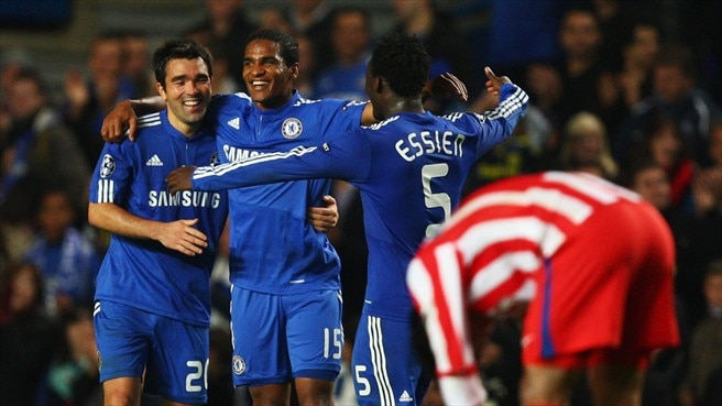 Powerful Chelsea brush Atlético aside