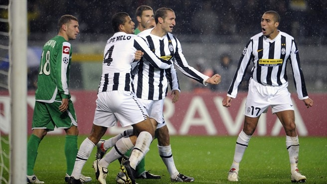 Juve upwardly mobile with Chiellini