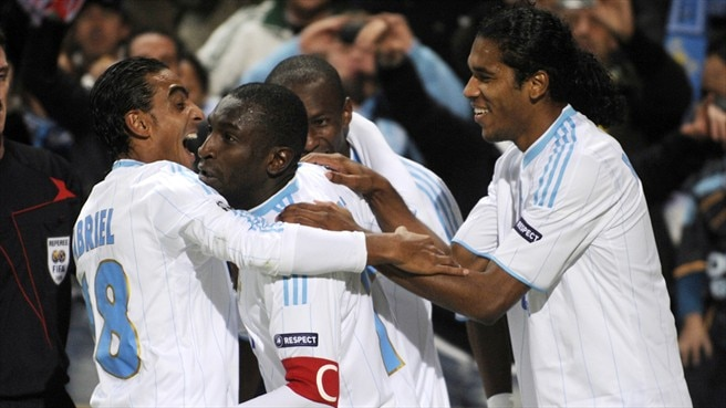 Rampant Marseille remain in touch