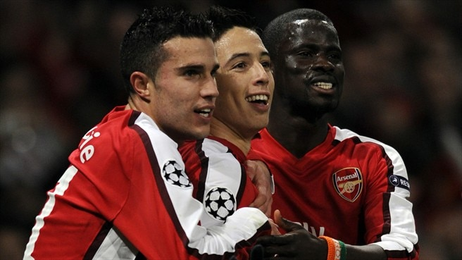 No fear for Van Persie's Arsenal