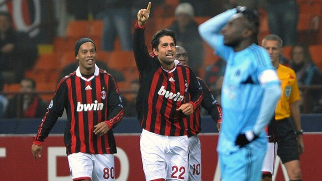 One for Borriello's Milan scrapbook