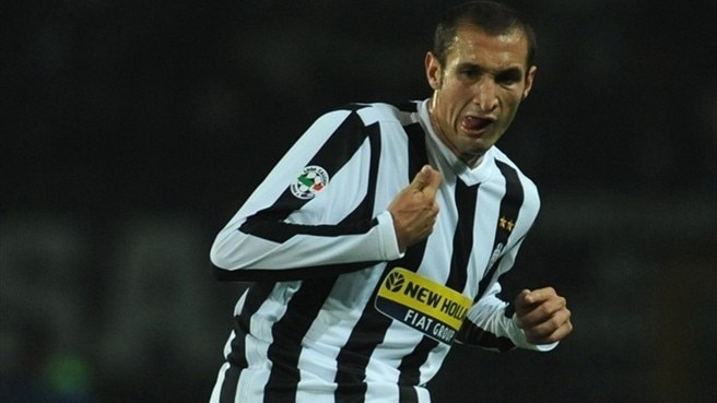 Thigh injury rules Chiellini out for Juve