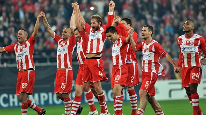 Olympiacos move onwards with win