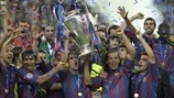 Back in 2006: Barca beat Arsenal in thrilling final