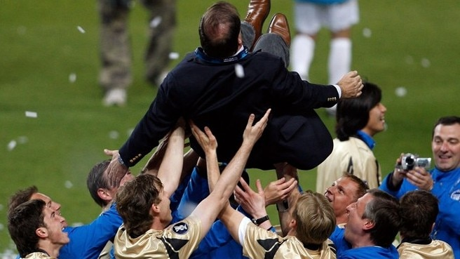 2007/08: Advocaat enjoys an all-time high