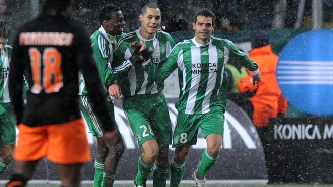 St Etienne take the honours from draw