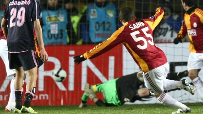 Sabri provides the sting in Galatasaray's tail