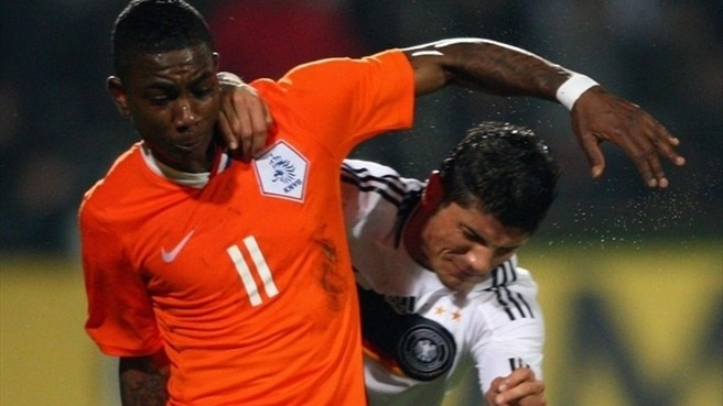 Elia comes on strong for the Oranje