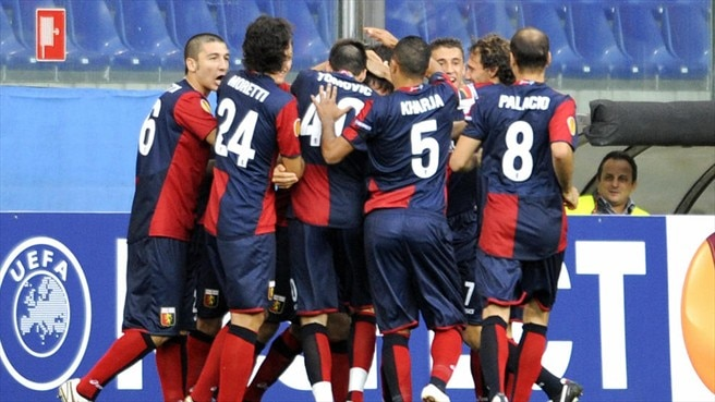 In-form Genoa see off Slavia