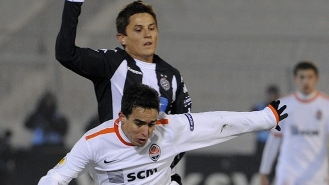 Partizan bow out with Shakhtar scalp