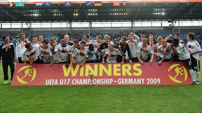 Germany win UEFA's Maurice Burlaz Trophy