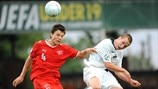 Slovenia v Switzerland - UEFA Under-19 Championship