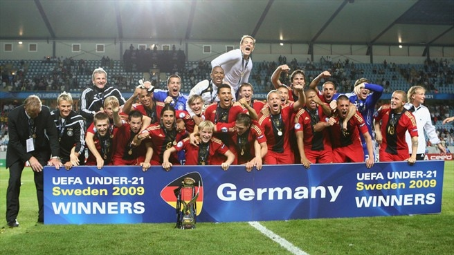 Germany claim first Under-21 crown