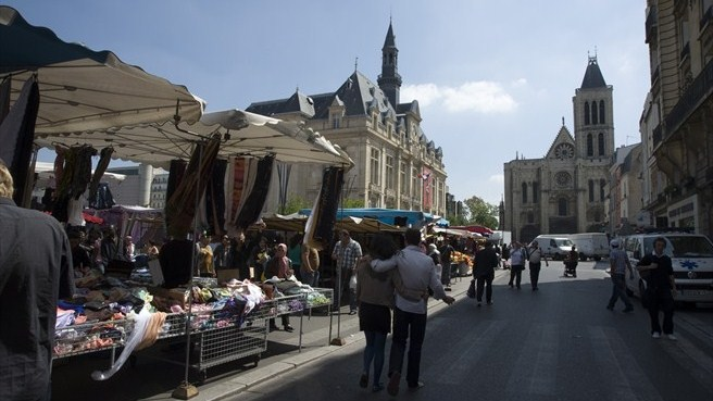 City centre, Saint-Denis