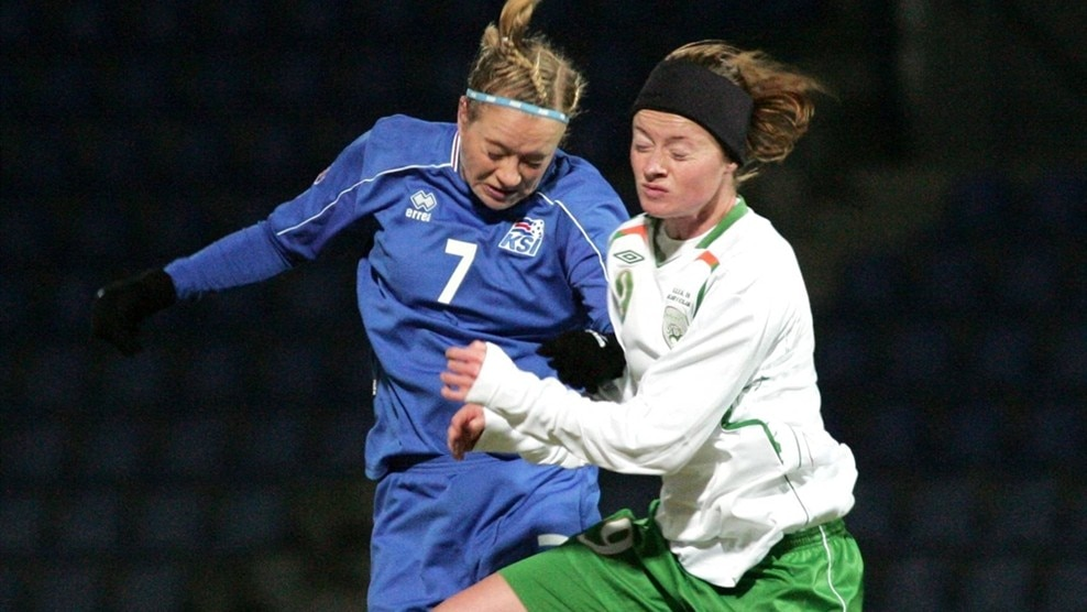 Dóra Stefánsdóttir (Iceland) & Mary Therese McDonnell (Republic of Ireland)