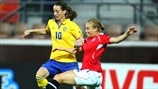 Kosovare Asllani (Sweden) & Toril Akerhaugen (Norway)