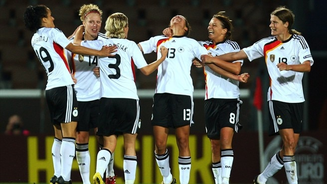 Replacements fire Germany into final