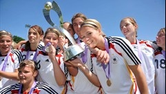 Germany first to gain glory