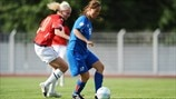 Iceland v Norway - UEFA European Womens' Under-19 Championship